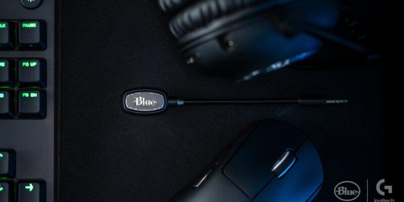 Logitech G Blue Icepop microphone for Logitech G Pro Headsets