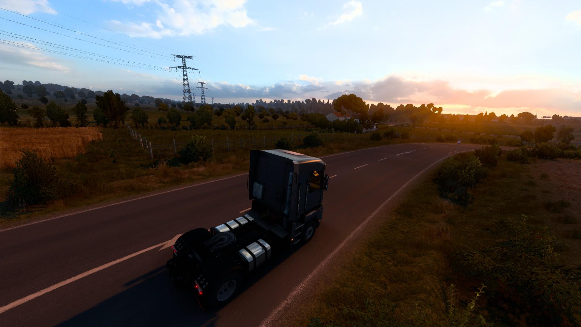 Euro Truck Simulator 2 Country Sunset