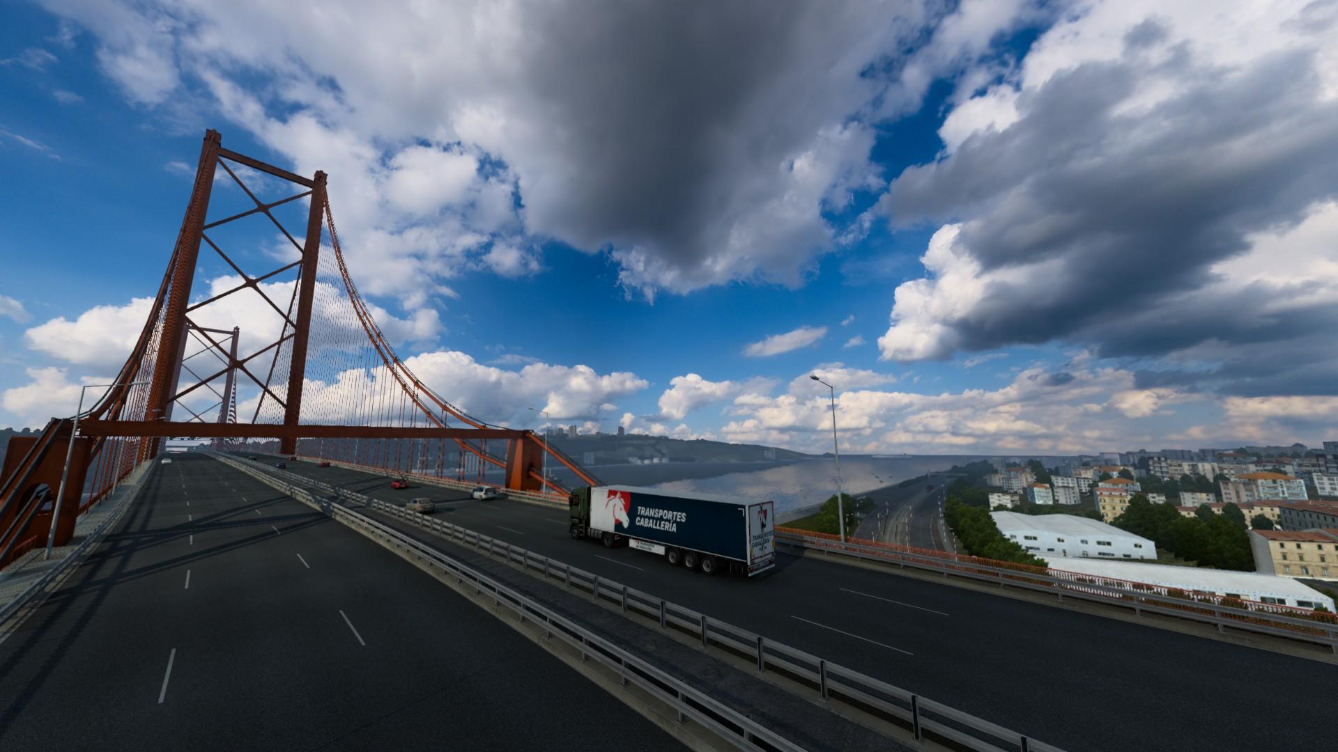 Euro Truck Simulator 2 Iberia Bridge