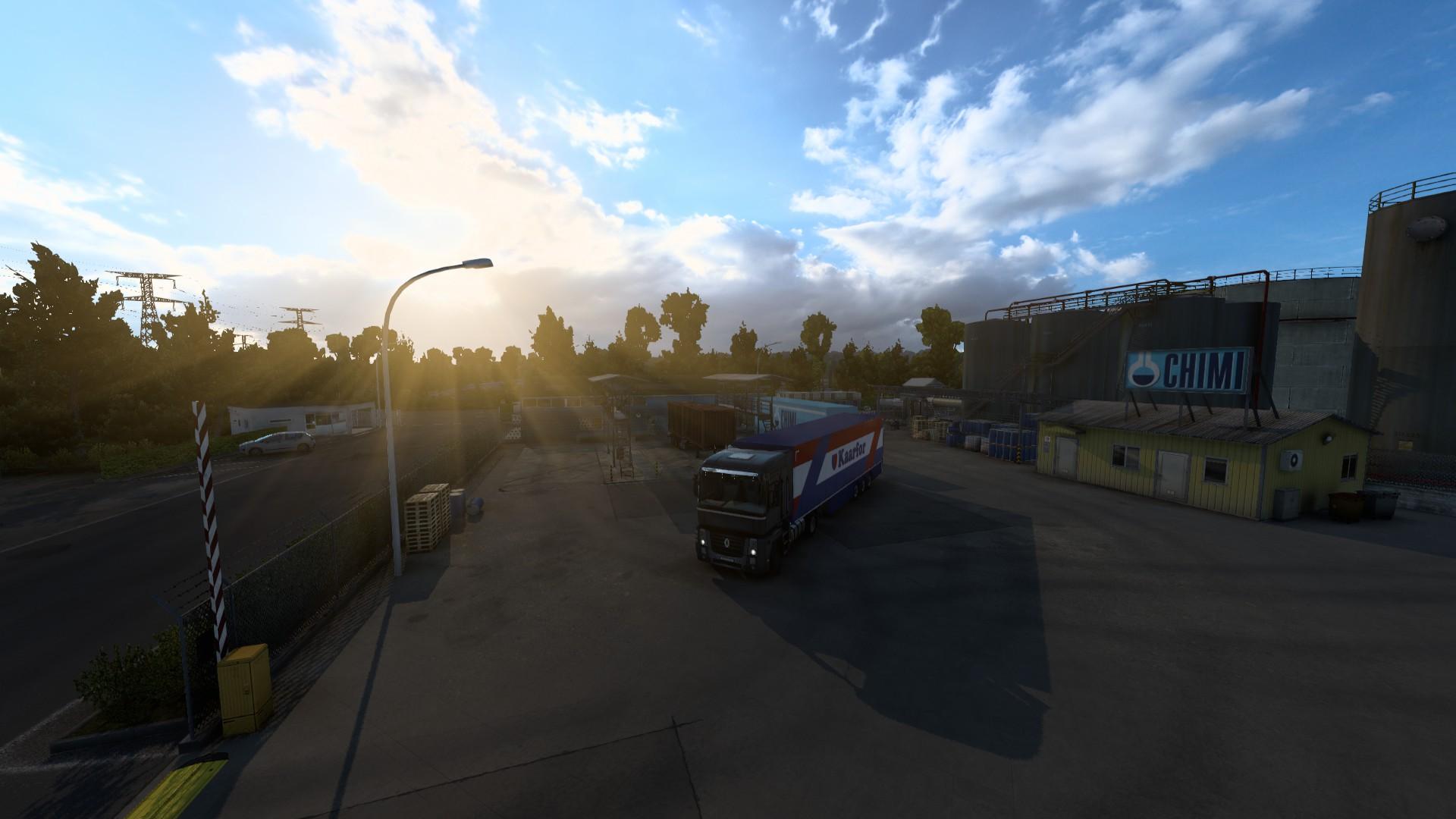 Euro Truck Simulator 2 Industrial Sun