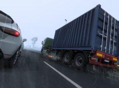 Euro Truck Simulator 2 Wet Road Rush