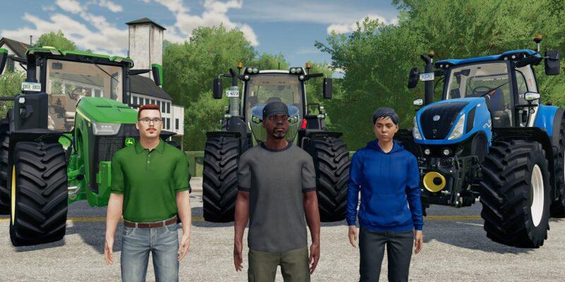 Farming Simulator 22 Crossplay