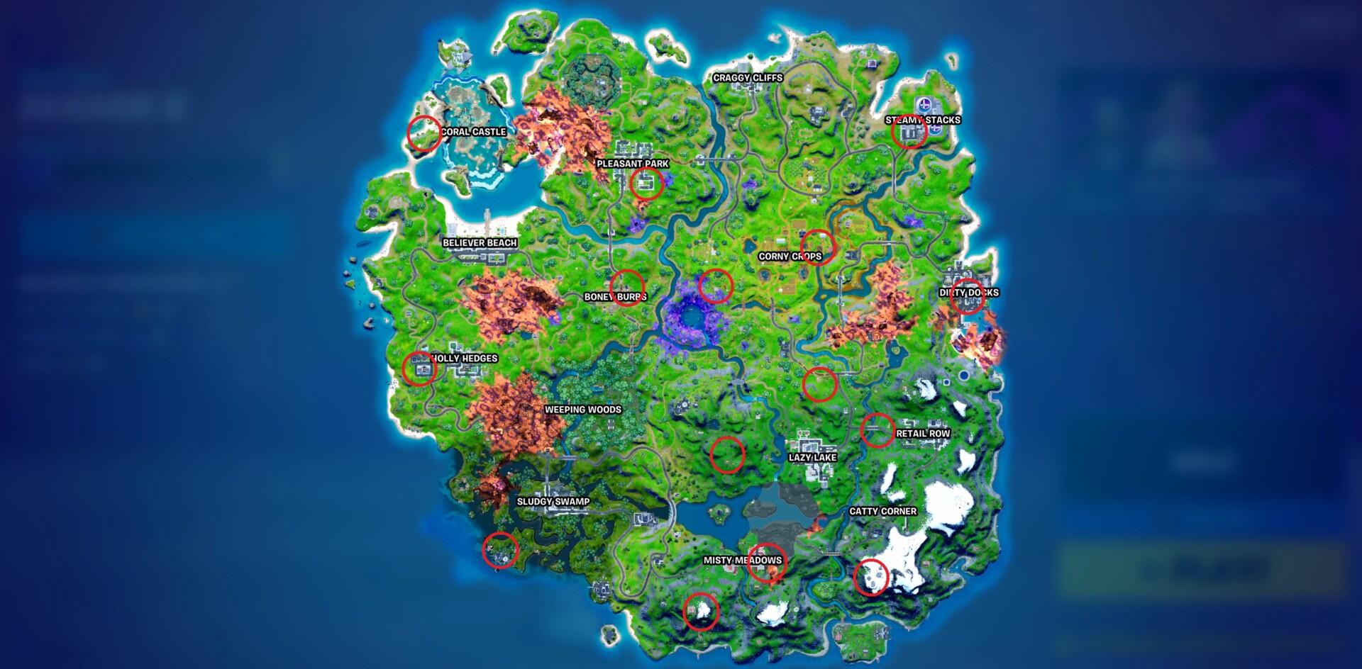 Fortnite Season 8 Npc Locations