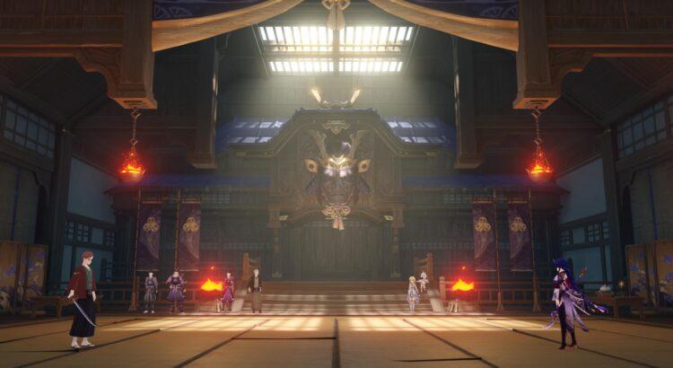 Genshin Impact Raiden Shogun Story Quest Ei Imperatrix Umbrosa Chapter Act 1 Reflections Of Mortality 2
