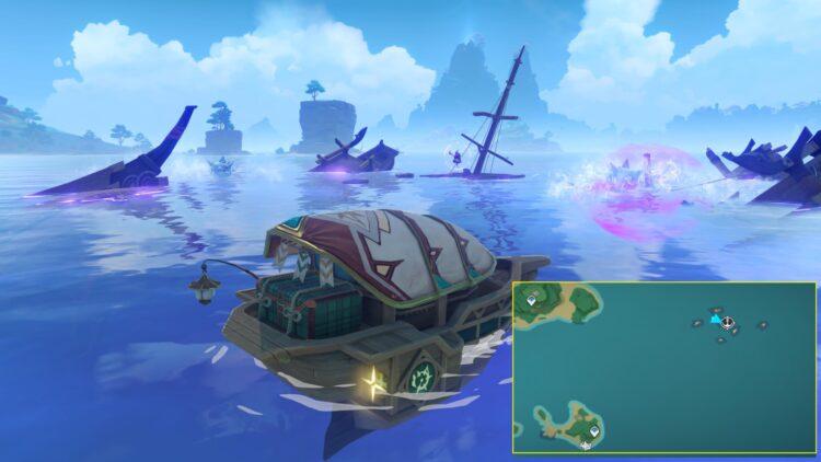 Genshin Impact Raimei Angelfish Locations Where To Find Raimei Angelfish 1