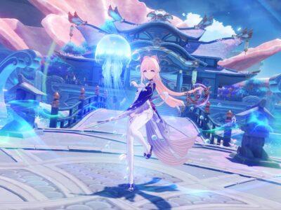 Genshin Impact Sangonomiya Kokomi Guide Sangonomiya Kokomi Best Weapon Best Artifact Best Artifact Sets Best Talents Build Everlasting Moonglow Maiden Beloved 1