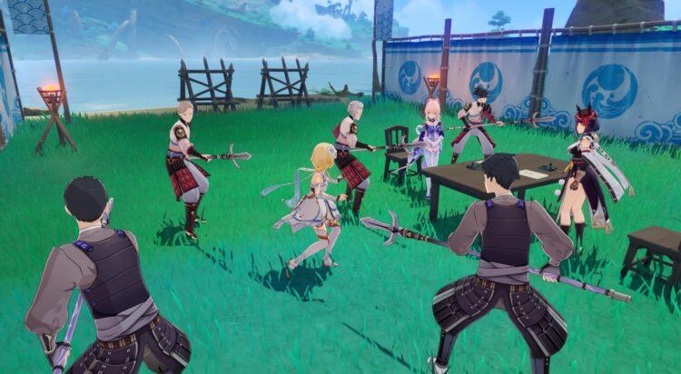 Genshin Impact Sangonomiya Kokomi Story Quest Dracaena Somnolenta Глава Акт 1 2