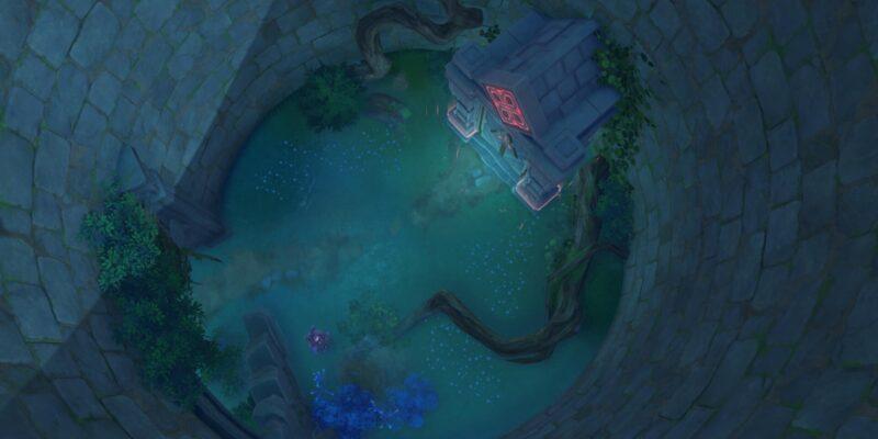 Genshin Impact How To Unlock Suigetsu Pool Domain Watatsumi Island Palace In The Pool