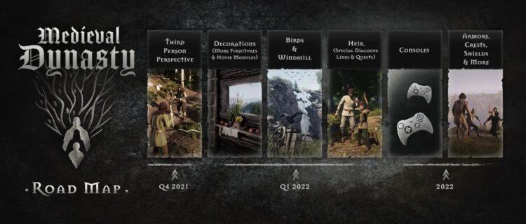 Medieval Dynasty Development Roadmap