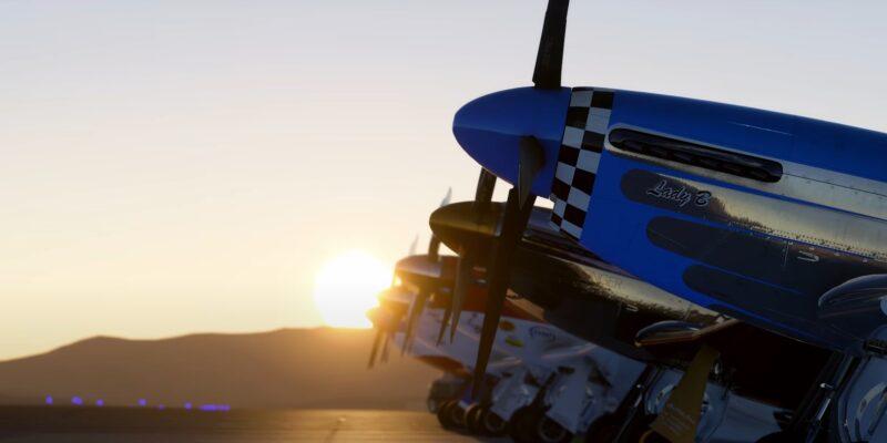 Microsoft Flight Simulator Reno Air Races Lineup