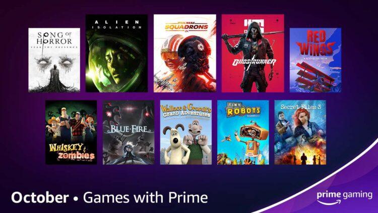 Октябрь Prime Gaming 2