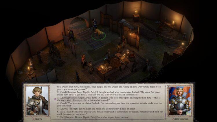 Pathfinder Wrath Of The Righteous Mythic Paths Guide Как разблокировать все мифические пути Angel Demon Legend Mythic Hero Switch Mythic Path 2b
