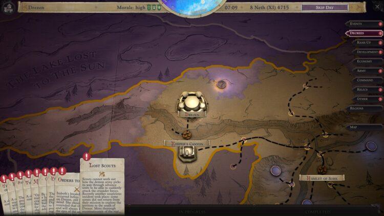 Pathfinder Wrath Of The Righteous Crusade Управление Военного совета Указывает Руководство для советников по событиям 1