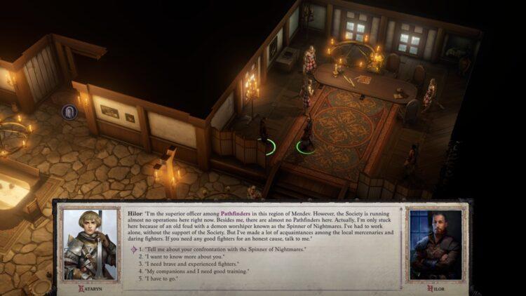 Pathfinder Wrath Of The Righteous How to Respec Reset Переучить персонажей Товарищи 1a