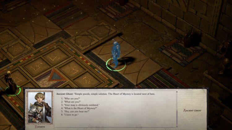 Pathfinder Wrath Of The Righteous Как решить загадочную неразрешенную головоломку 2