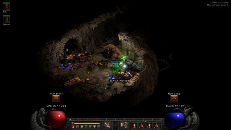 Diablo Ii Resurrected server queue players old code