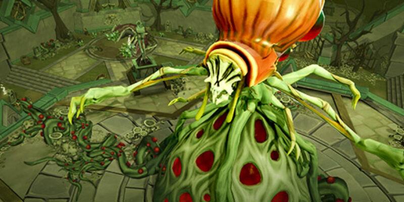 Runescape Croesus Front Boss Fight