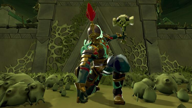 Runescape Croesus Front Tagga's Core Hammer