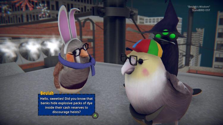 Skatebird Review Beulah Conversation Mission