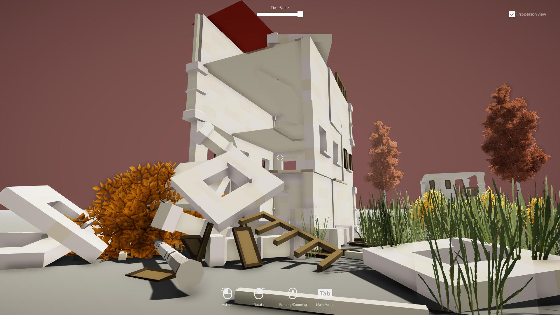Art Of Destruction Steam Next Fest Simulator Demo Building 1