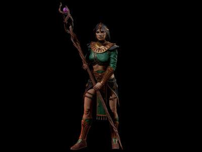 Diablo 2: Resurrected Sorceress