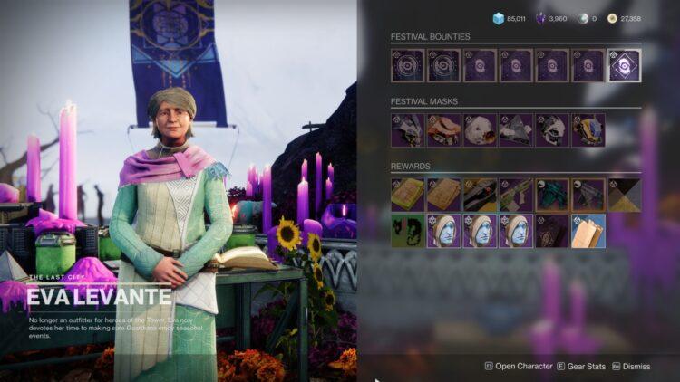 Destiny 2: руководство по фестивалю потерянных в 2021 году: проявление секторов с привидениями 2