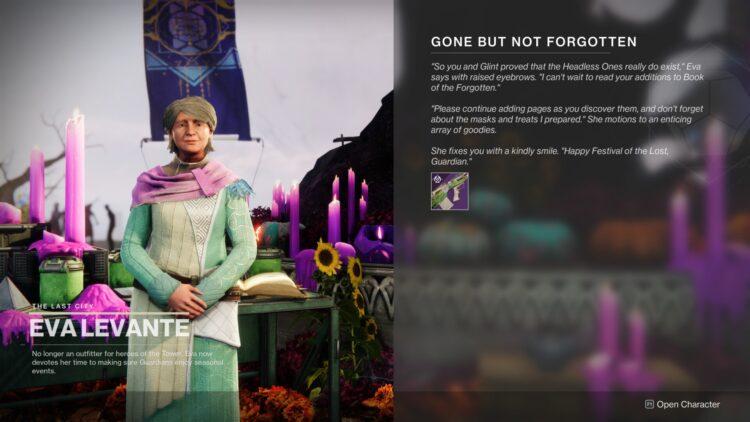 Destiny 2 Festival Of The Lost Jurassic Green Gone But Not Forgotten 1