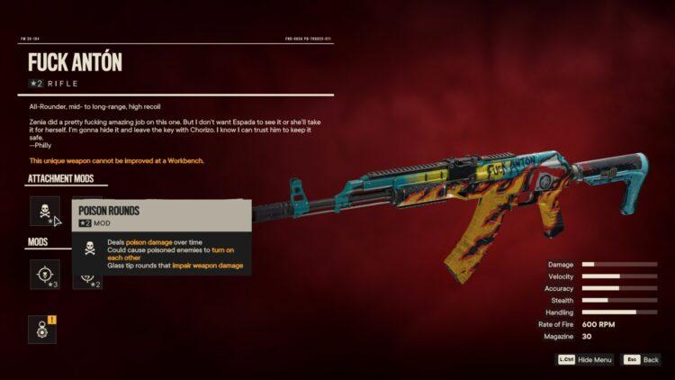 Far Cry 6 Трахни Антон Уникальная Винтовка Чоризо Таинственный Ключ 2