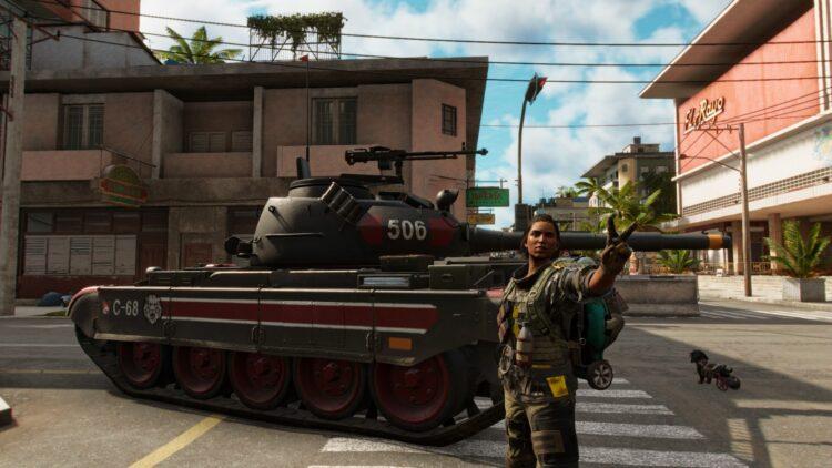 Far Cry 6 Crackle & Pop Уникальный пулемет Уникальное оружие Потерянный рай Эль-Райо Кинотеатр 1