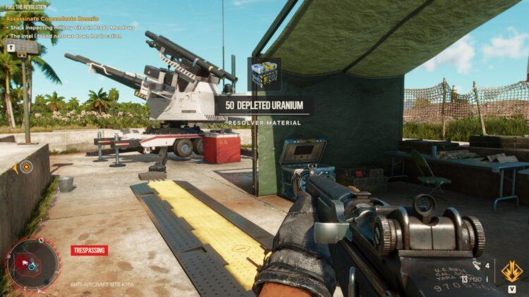 Far Cry 6 Depleted Uranium Supremo Resolver 2