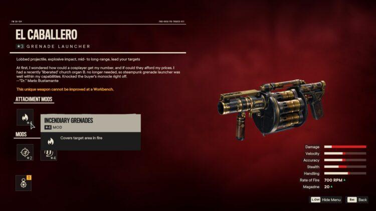Far Cry 6 Эль Кабальеро Уникальный гранатомет Уникальное оружие Яран Контрабанда Fi Escudo Steel Plant Cobre Shores 2