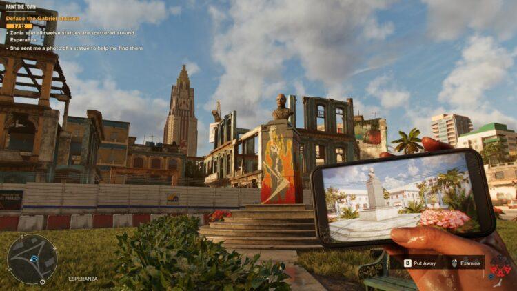 Far Cry 6 Раскрась город История Ярана Статуи Габриэля Зения Заяс 1