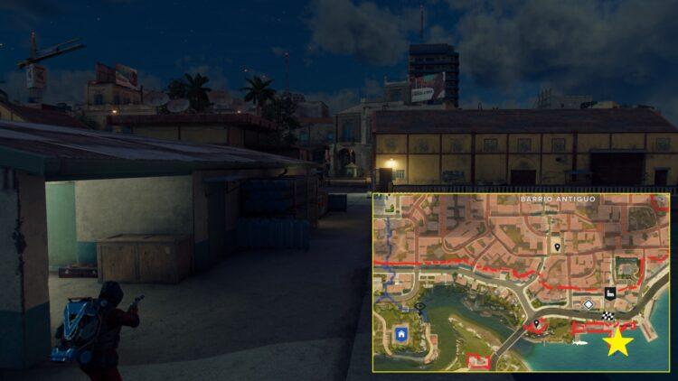 Far Cry 6 Уникальная винтовка Уруши Уникальное оружие Яран Контрабанда Доставка ярдов Эсперанса 1