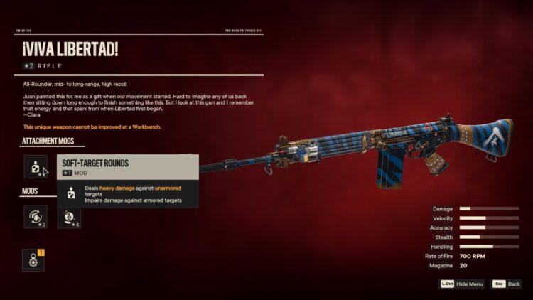 Far Cry 6 Вива Ла Либертад Уникальное оружие Яран Контрабанда 2