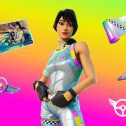 Fortnite Refer A Friend Rainbow Racer
