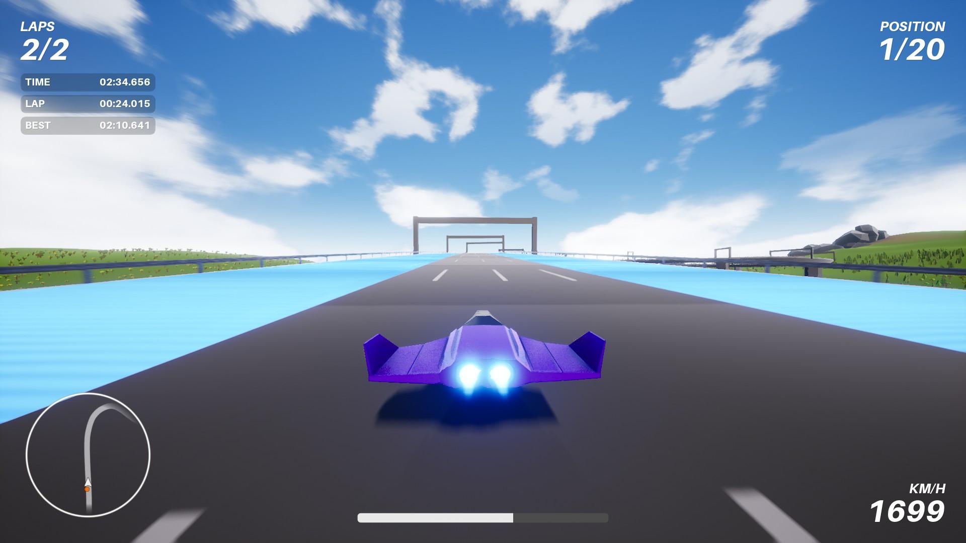 Galaxy's Extreme Steam Next Fest Racing Demo Burst 1
