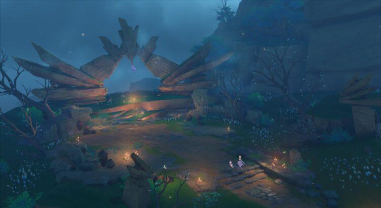 Genshin Impact Autake Plains Тайна камней: руководство по головоломкам 2