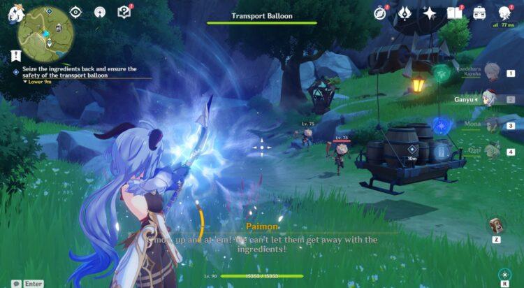 Genshin Impact Moonchase Tales Часть 2 Руководство 1
