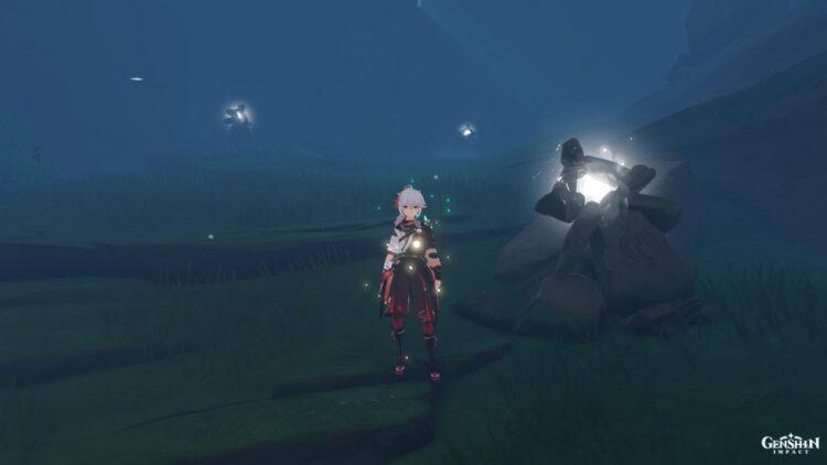 Туманный фонарь Genshin Impact Tsurumi Island 1