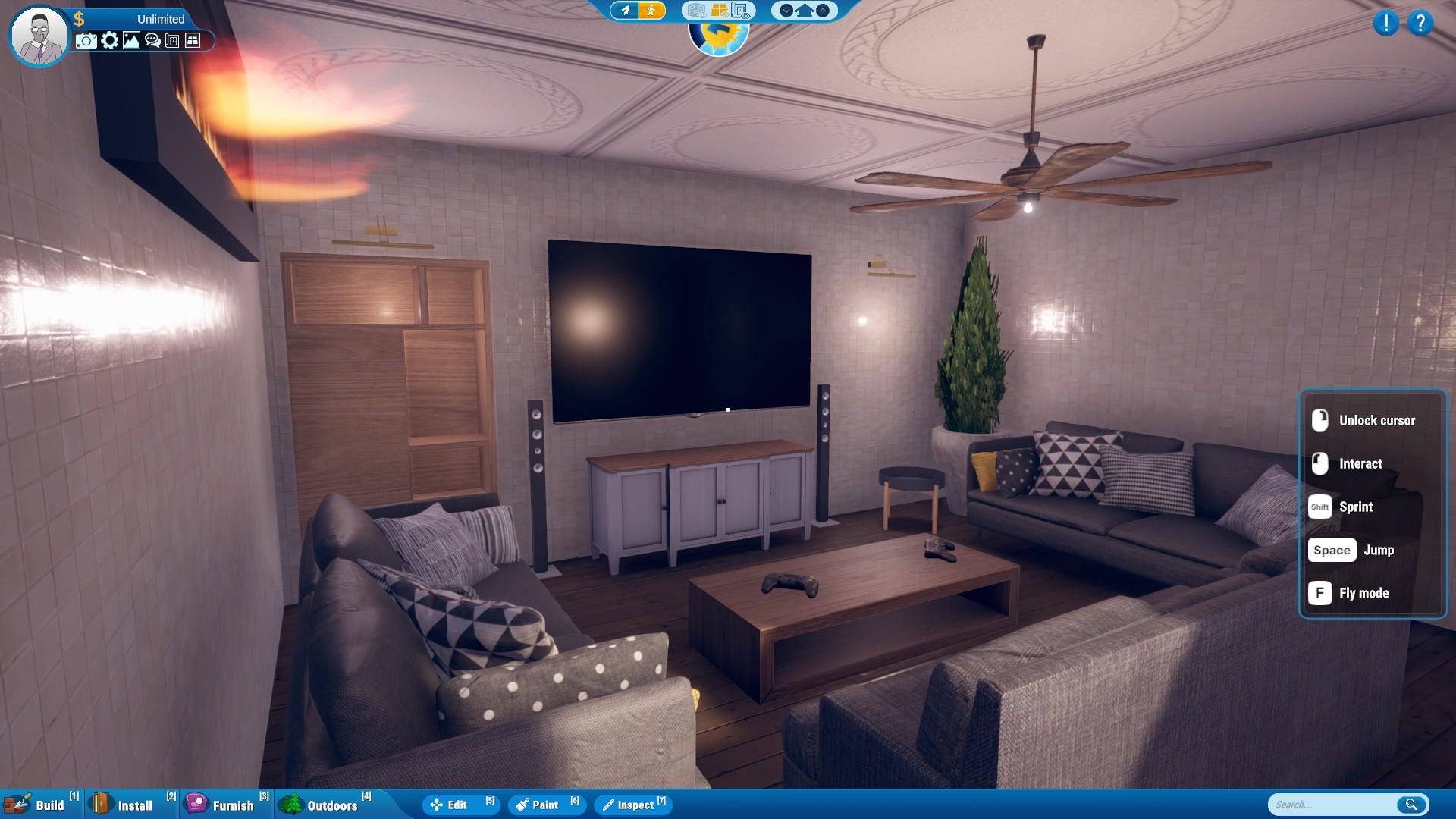 Hometopia Steam Next Fest Simulator Demo Living Room