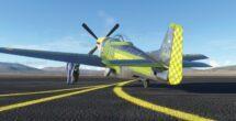 Microsoft Flight Simulator Reno Air Races closed beta gameplay P51 Lobby Pose