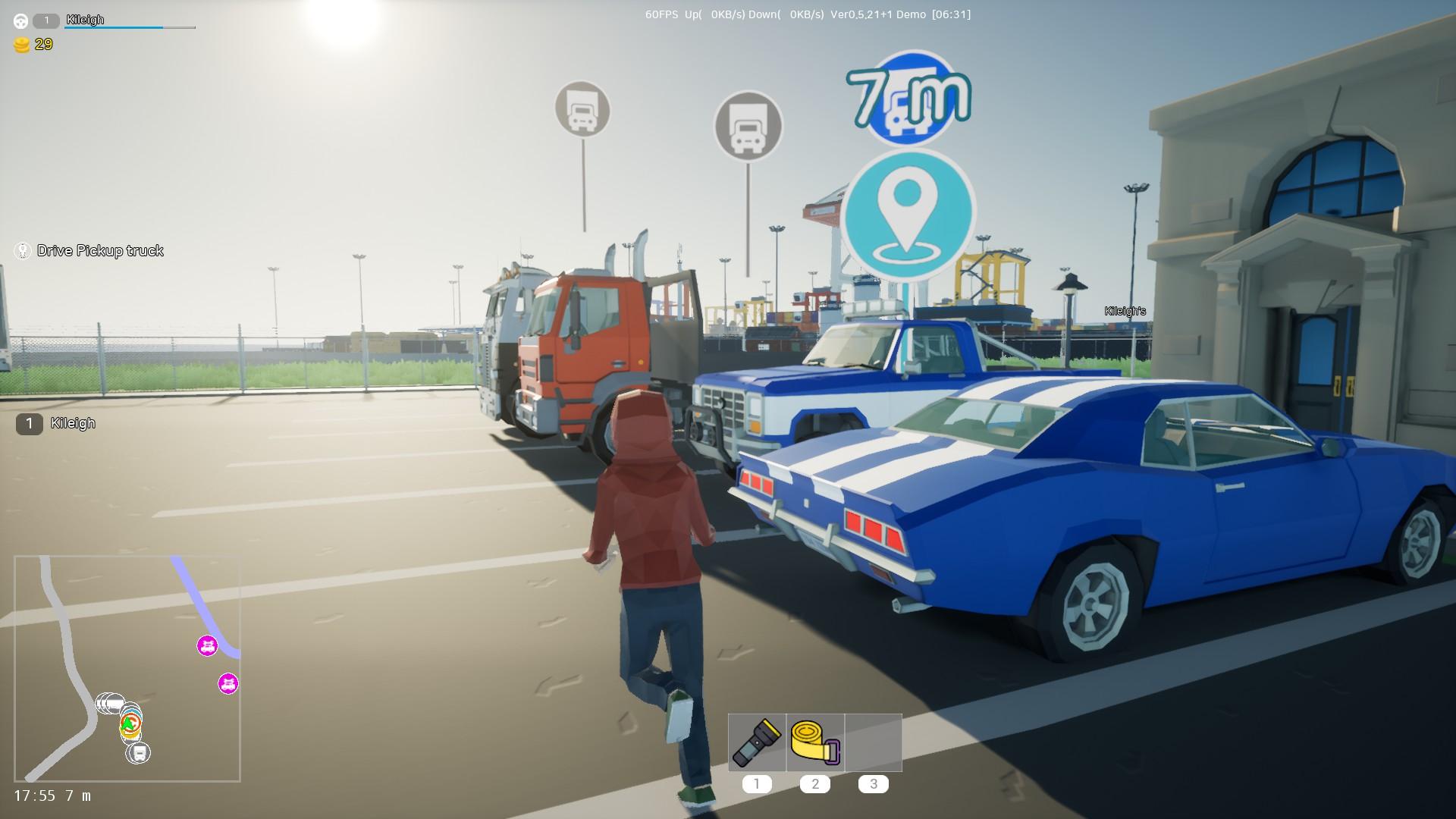 Motor Town Behind The Wheel Steam Next Fest Racing Demo Car Lot