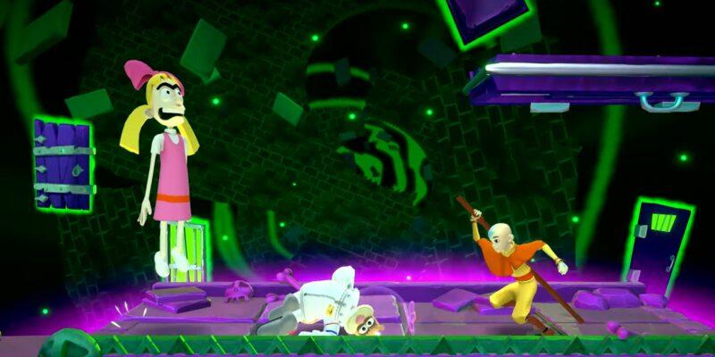 Nickelodeon All Star Brawl Aang Korra