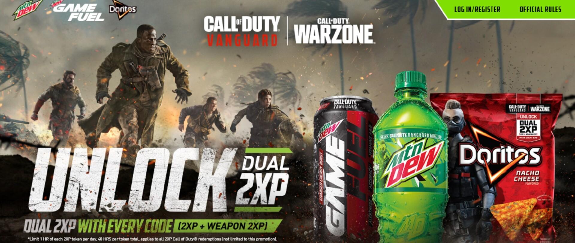 Warzone Vanguard Doritos And Mountain Dew Rewards