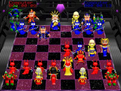 Battle Chess 4000 Steam board