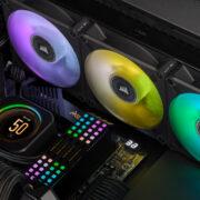 Corsair Elite Liquid Cooler Lcd Kit Upgrade Clc Aio Cpu
