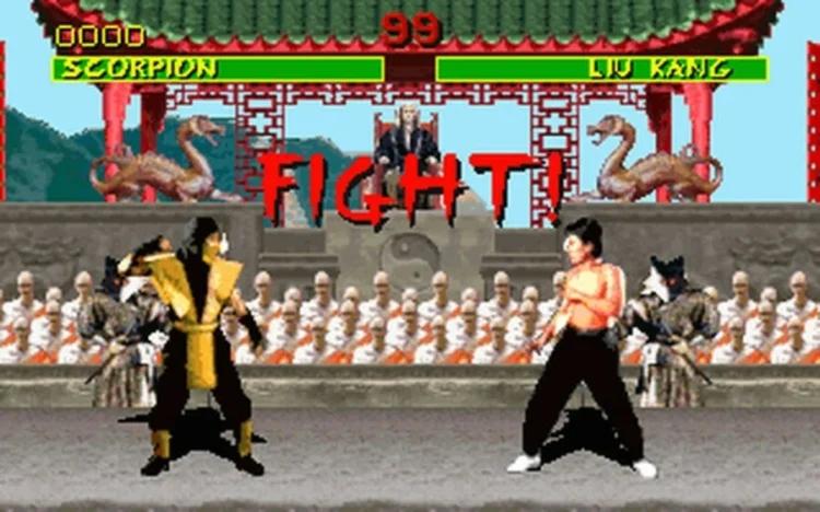 Mortal Kombat Boon spear game