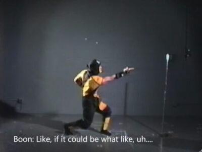 Mortal Kombat Boon Scorpion spear footage