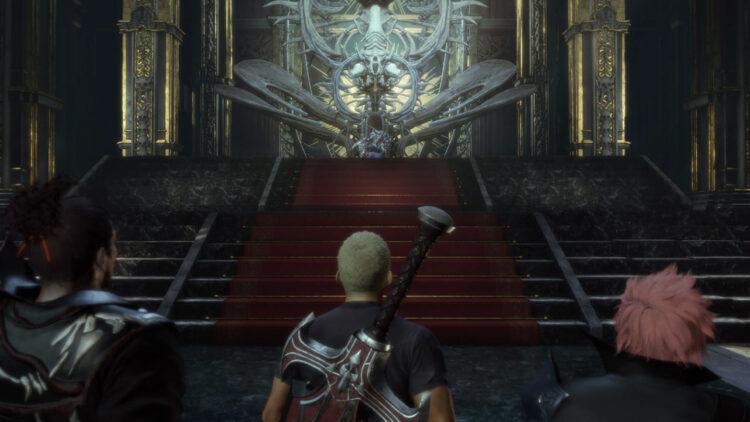 Final Fantasy Origin release date demo throne