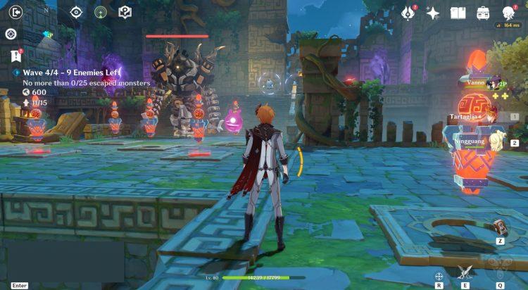 Genshin Impact Theater Mechanicus Guide Xiao Lantern Veneficus Sigil Tower Defense 3c